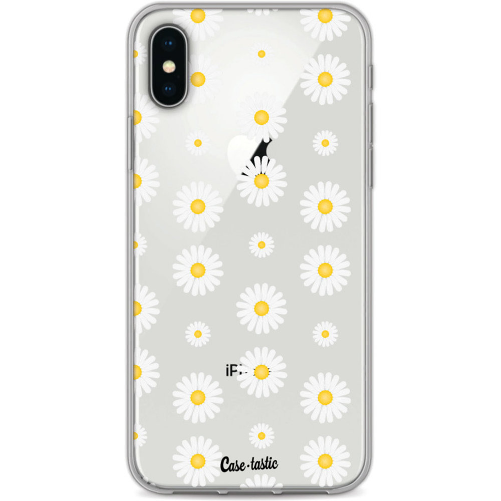 Casetastic Softcover Apple iPhone X / XS - Daisies